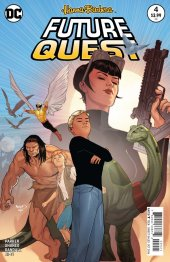 Future Quest #4 Variant Edition
