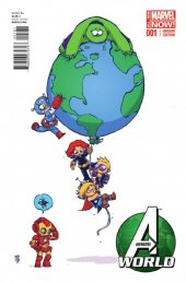 Avengers World #1 Young Variant
