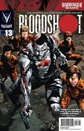 Bloodshot #13 Bullock Cover