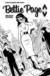 Bettie Page #1 Cover J 1:40 Chantler B&W Incentive
