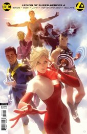 Legion of Super-Heroes #4 Card Stock Variant Edition