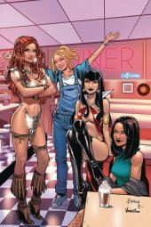 Red Sonja & Vampirella Meet Betty & Veronica #11 1:30 Braga Virgin Cover