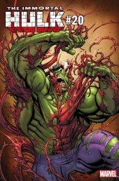 The Immortal Hulk #20 Nick Bradshaw Carnage-ized Variant