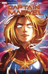 Marvel Action: Captain Marvel #2 1:10 Incentive Variant