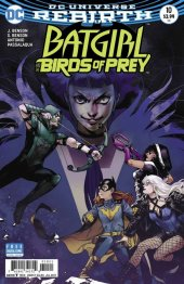 Batgirl and the Birds of Prey #10 Variant Edition