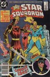 All-Star Squadron #48 Newsstand Edition