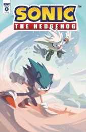 Sonic the Hedgehog #8 1:10 Incentive Variant