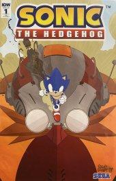 Sonic the Hedgehog #1 Denton Variant