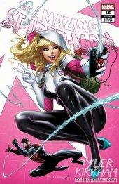 The Amazing Spider-Man #15 Tyler Kirkham Spider-Gwen Variant