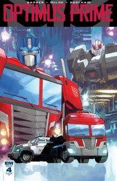 Optimus Prime #4 RI Cover