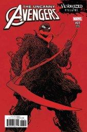 Uncanny Avengers #27 Venomized Variant