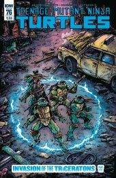 Teenage Mutant Ninja Turtles #76 Cover B Eastman