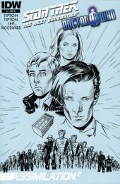Star Trek: The Next Generation/Doctor Who: Assimilation2 #3 Cover C