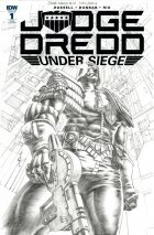 Judge Dredd: Under Siege #1 1:20 Incentive Variant
