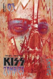 Kiss/Zombies #3 Original Cover