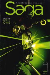 Saga #41 1st Printing Error Recall Cover