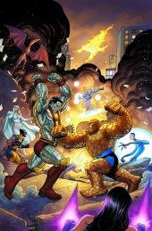 X-Men / Fantastic Four #1 C2E2 2020 Glow In The Dark Variant