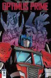 Optimus Prime #14 Cover B