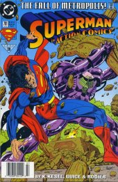 Action Comics #701 Newsstand Edition