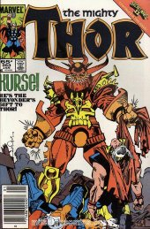 The Mighty Thor #363 Newsstand Edition