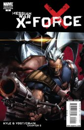 X-Force #15 Crain Variant Cover