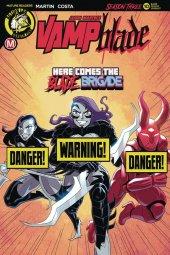 Vampblade: Season 3 #10 Cover B Costa Risque