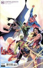 Justice League #41 Variant Cover