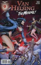 Van Helsing vs. The Werewolf #5 Cover B Salonga