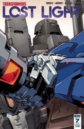 Transformers: Lost Light #7 SUB-B Cover