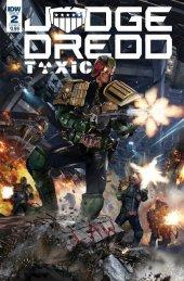 Judge Dredd: Toxic #2 Cover B Gallagher