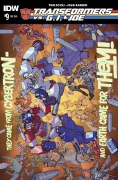 Transformers vs. G.I. Joe #9 Subscription Variant