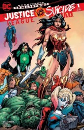 Justice League vs. Suicide Squad #1 Bart Sears Diana Victorious Variant