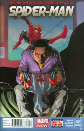 Miles Morales: The Ultimate Spider-Man #2 2nd Printing Marquez Variant