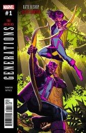 Generations: Hawkeye & Hawkeye #1 Original Cover