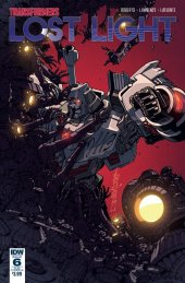Transformers: Lost Light #6 SUB-B Cover