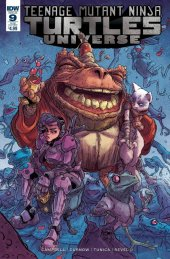 Teenage Mutant Ninja Turtles: Universe #9 Subscription Variant