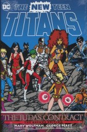 new teen titans the judas contract deluxe edition hc