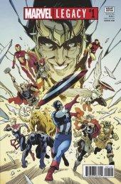 Marvel Legacy #1 Valerio Schiti Retailer Variant