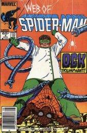Web of Spider-Man #5 Newsstand Edition