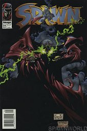 Spawn #54 Newsstand Edition