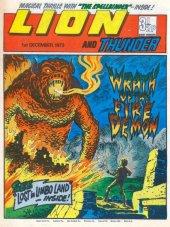 Lion #December 1st, 1973