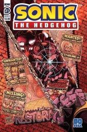 Sonic the Hedgehog #31 Cover B Jon Gray