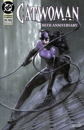 Catwoman 80th Anniversary 100-Page Super Spectacular #1 1990s Variant Cover by Gabriele Dell