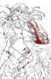 Red Sonja #19 Dawn McTeigue Variant B