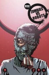 Zombies vs. Robots #10 Subscription Variant