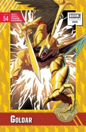 Mighty Morphin Power Rangers #54 1:10 Anka Incentive Cover