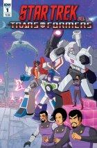Star Trek vs. Transformers #1 Cover B  Philip Murphy