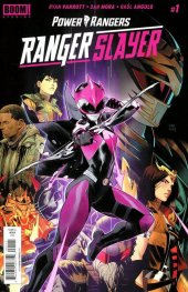 Mighty Morphin Power Rangers: Ranger Slayer #1 Original Cover