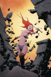 Red Sonja #17 Lee Virgin Ltd Cover