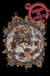 Zombies vs. Robots #2 Subscription Variant